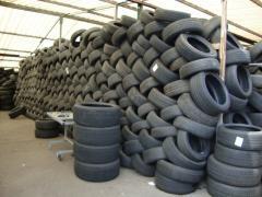 Gebrauchte Reifen für den Export